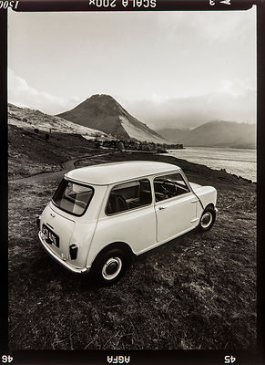 The First Mini '621 AOK' 1959: Photographer Neil Emmerson 1998