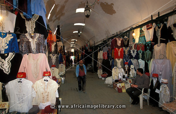 souq in the medina, Sfax, Tunisia
