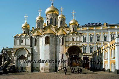Cathedral of the Annunciation | Kremlin Moscow | April 1976