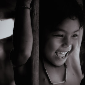 """ Young Child at Tonle Sap - N°3 """