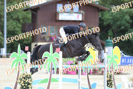 HENTSEL Marek (CZE) and TREND D ELSENDAM Z during LAKE ARENA - Equestrian Summer Circuit I, CSI2* - Good bye comp.-145cm, 201...
