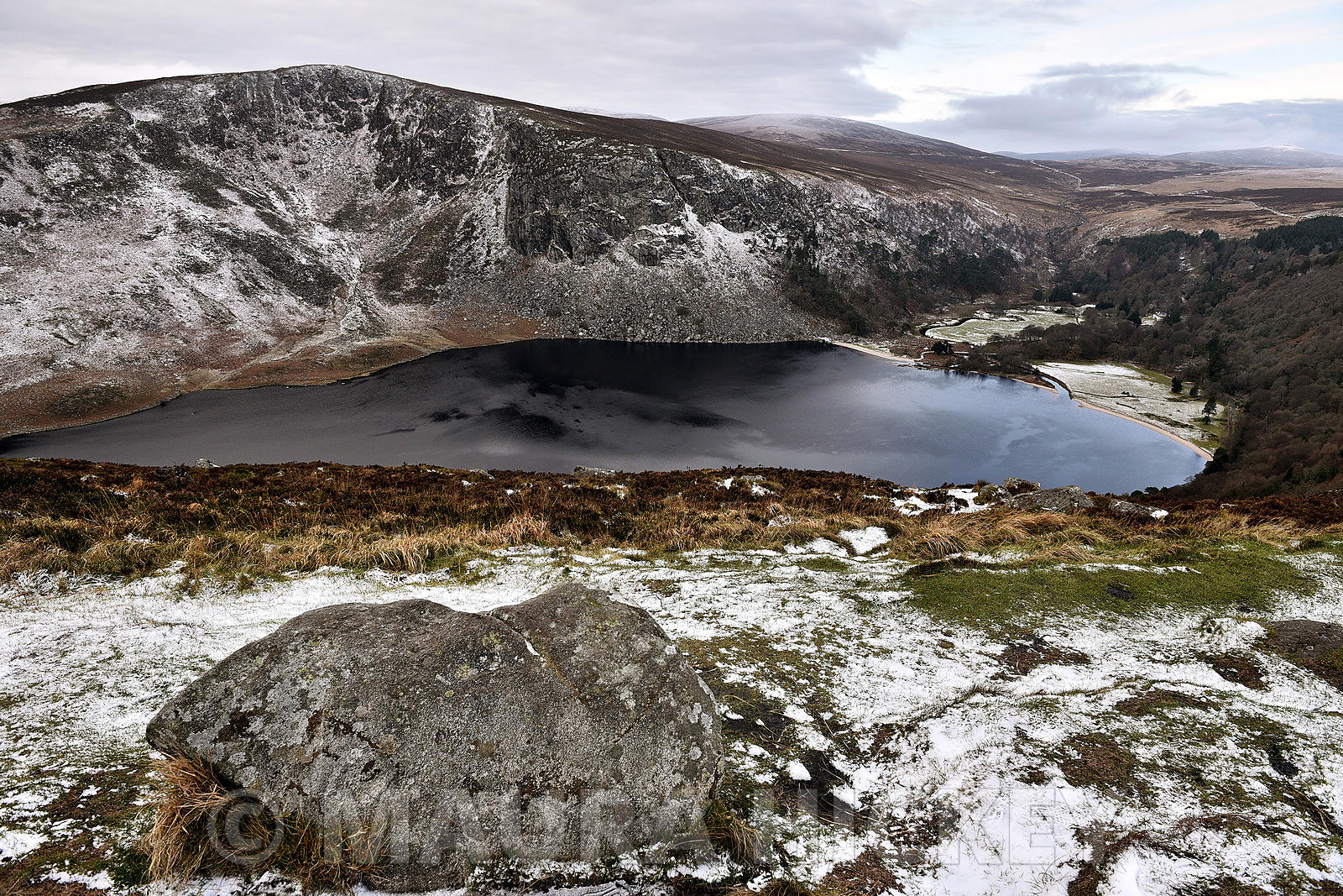 Lough Tay and Luggala, Co. Wicklow..