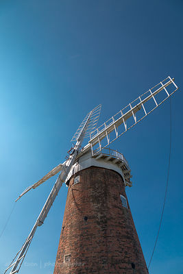 Windmill at Horsey, Norfolk, UK