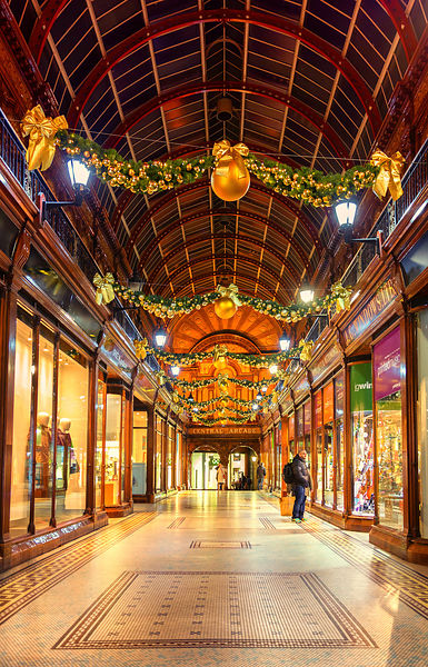 Christmassy Central Arcade