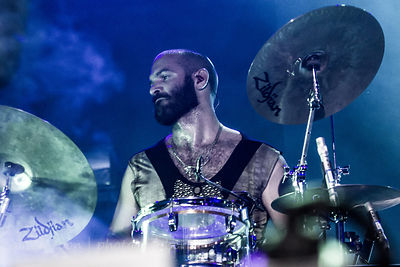 Tony Mitolo, drums, Empire of the Sun, TBD Fest, 2014