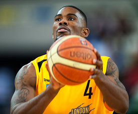 2014 British Basketball League - London Lions v Cheshire Phoenix Apr 4th