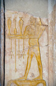 Deir Al Bahari, Temple of Hatshepsut, bas-relief, Ancient Thebes, Luxor, Egypt