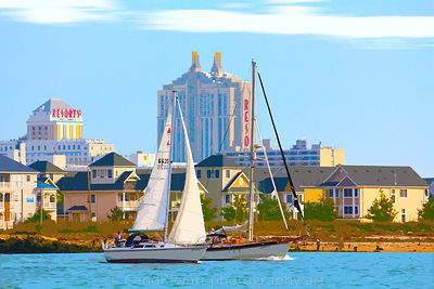 Atlantic City Inlet Boat