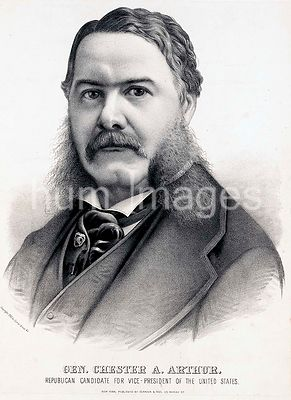 Gen. Chester A. Arthur Republican candidate for vice-president of the United States ca 1880
