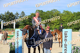 HANULAY Juraj (SVK) and DONJO during LAKE ARENA - The Equestrian Springbreak, CSI1*, Big Tour, 140 cm, 2017 June 11 - Wiener ...