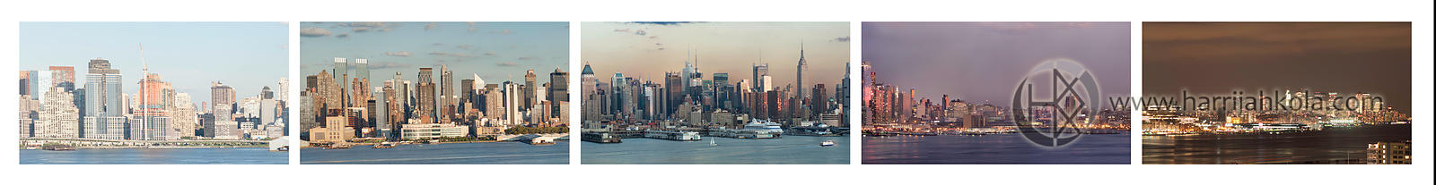 United States - New York (Manhattan Time Lapse in A Frame)