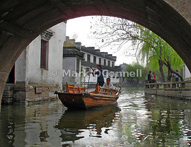 Zhouzhuong water village China 5