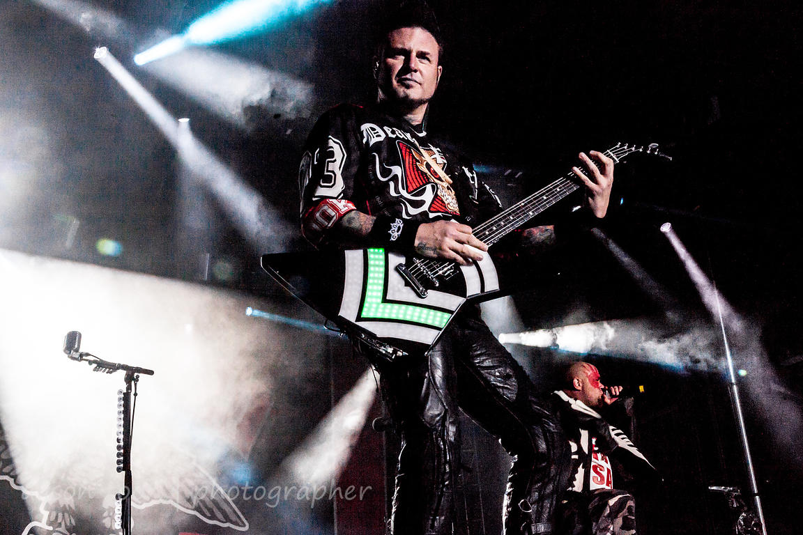 Jason Hook, guitar, Five Finger Death Punch