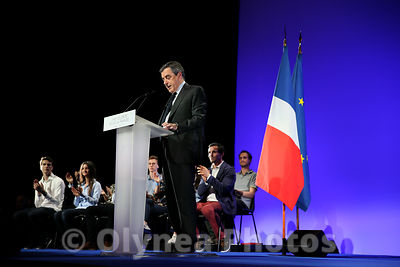 Meeting of François FILLON in Toulouse