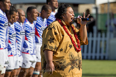 National anthem, Fiji v. Samoa, World Rugby Pacific Nations Cup
