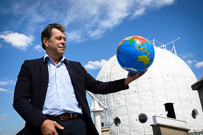 Daniel Gambis responsable de l'IERS, International Earth rotation and Reference System Service.