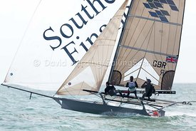 18ft Skiff European Grand Prix, Sandbanks, 20160904257