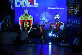 Jorge Maqueda during the Final Tournament - Semi final match - Vardar vs Meshkov Brest - Final Four - SEHA - Gazprom league, ...