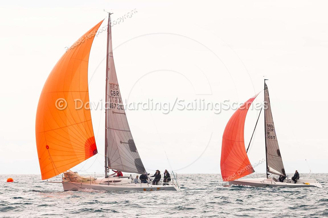 Qu' au Rhum 2, GBR4672L, Archambault Grand Surprise, Weymouth Regatta 2018, 20180908999.