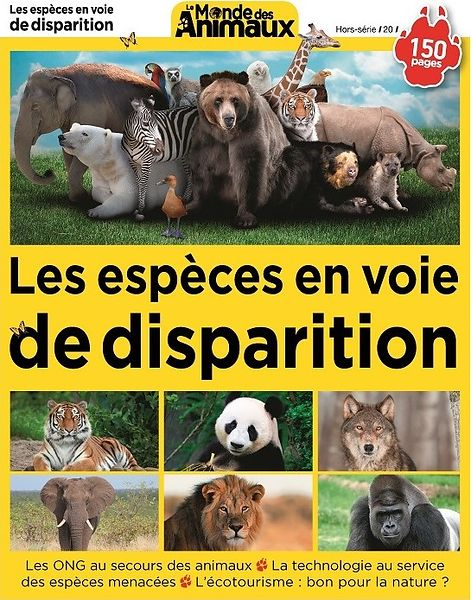Special Issue 20 Le Monde des Animaux (France) - July 2018