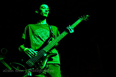Anthony Juarez, bass, Street Urchinz