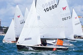 Wayfarer start, Zhik Poole Week 2015, 20150828005