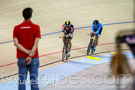 Men's omnium individual pursuit. Milton International Challenge, January 10, 2015
