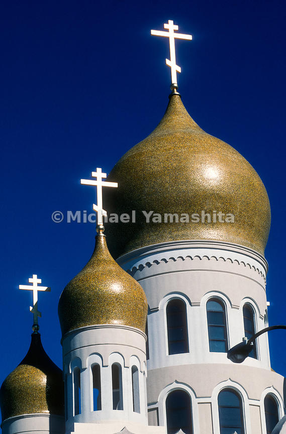 Russian Orthodox Cathedral, Richmond.San Francisco, California
