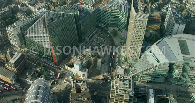 London Aerial Footage of Nova Complex,