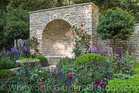 Photographer: Rob Whitworth. The Claims Guys: A Very English Garden. Sponsor: The Claims Guys. Designer: Janine Crimmins.