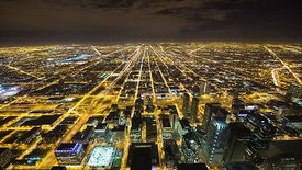 Bird's Eye: 1,000 Feet Above The Kennedy Expressway