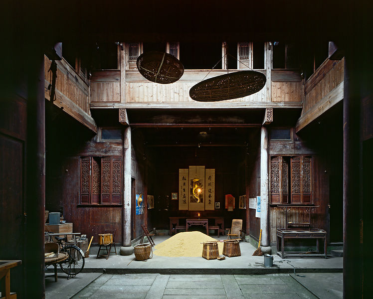 _Qing merchant's house