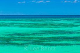 Turquoise Sea Viewed from Fort Jefferson in Dry Tortugas National Park