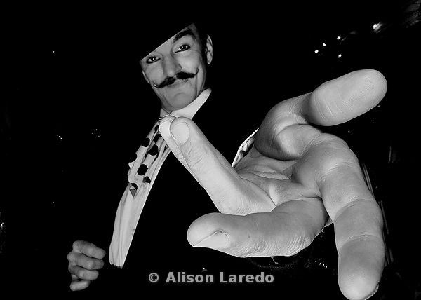 Welcome to the Circus. Christo Fire Machon, circus performer, Alison Laredo