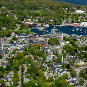 Camden Harbor, Maine (ME)