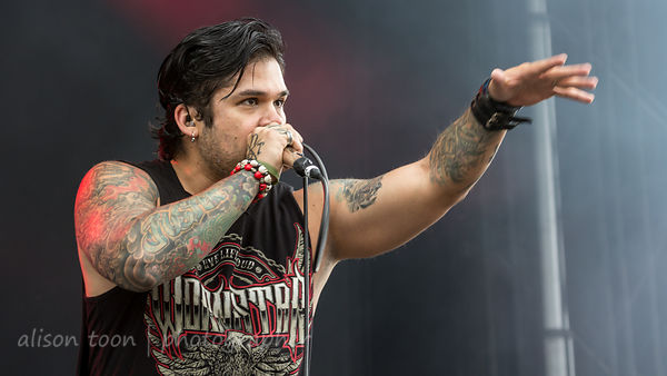 Jasen Moreno, vocals, Drowning Pool