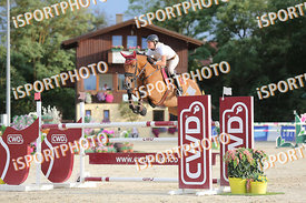 SCHAFER Nina (GER) and CALIMBA 19 during LAKE ARENA - The Summer Circuit II, CSI2*, GOOD BYE COMP, 140 cm, 2017 August 27 - W...