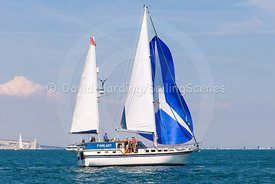 Finnlady during the Round the Island Race 2018, 20180707824