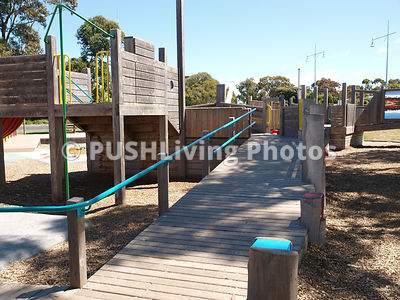 Wheelchair accessible and inclusive playgrounds