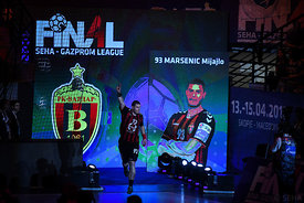 Mijajlo Marsenic during the Final Tournament - Semi final match - Vardar vs Meshkov Brest - Final Four - SEHA - Gazprom leagu...