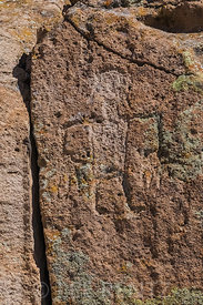 Tsankawi Petroglyph in Bandelier National Monument
