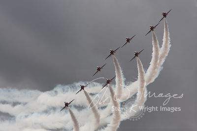The Red Arrows - Hull, East Yorkshire, United Kingdom (13th September 2009)