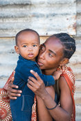 Mother and child, Toliara, Madagascar