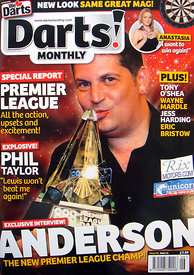 Darts! Monthly June 2011 - Front Cover.3467035 - Steven Paston