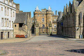 Entrance to Palace of Holyroodhouse