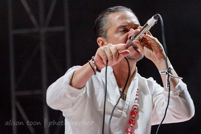 Mike Patton, vocals, Faith No More