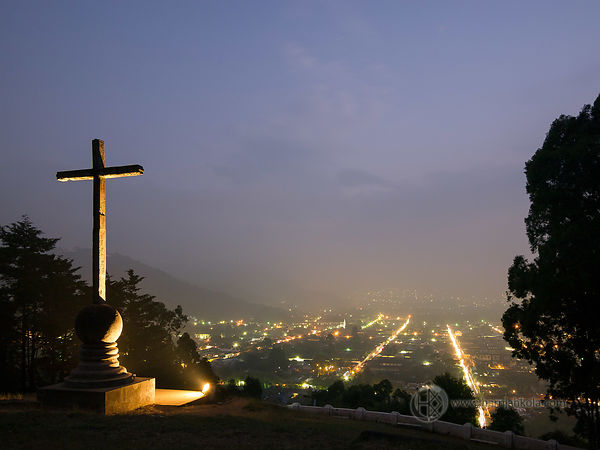 Guatemala - Antigua (Cerro de la Cruz At Night II)