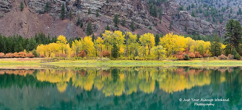Flathead River Colors
