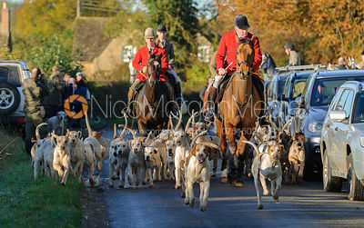 The Cottesmore Hunt Newcomers Meet 25/10