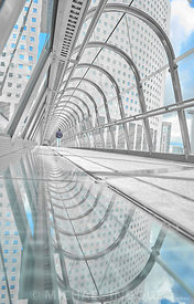 la_defense_tunel_japon_etienne_puddle_miroir_splash_minimalism